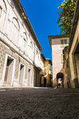 Italian street in summer — Stock Photo
