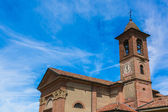 Church in the province of Cuneo — 图库照片