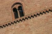 замок фоссано, — Стоковое фото