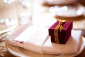 Dekoration am Hochzeitstag — Stockfoto