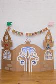 Palais de l'enfant en carton — Photo