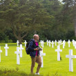 American Military Cemetery, Omaha Beach, Colleville-sur-Mer — Stock Photo #47228175