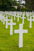 American Military Cemetery, Omaha Beach, Colleville-sur-Mer — Stock Photo