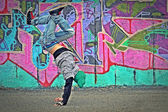 Breakdancer — Stock Photo