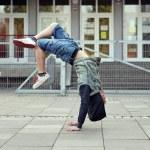 Breakdancer on the street — Stock Photo #43692561