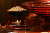 Relax candle — Stockfoto