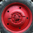 Stock Photo: Tractor wheel