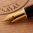 Stock Photo: Fountain pen