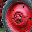 Tractor wheel — Stock Photo #40244377