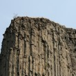 Stock Photo: Basaltic columns