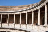 パラシオ ・ デ ・ カルロス v (アルハンブラ宮殿でチャールズの宮殿 v) グラナ — ストック写真
