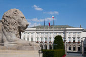 The Presidential Palace in Warsaw, Poland — Stock Photo