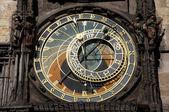 Prague. Astronomical clock. Orloj — Stockfoto