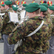 Stock Photo: Musiciof military orchestra. Bern, Switzerland