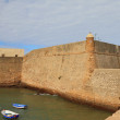 Fortress wall. Cadiz, Spain — Stock Photo