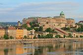 Buda Castle (Royal palace). Budapest, Hungary — Stock Photo