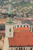 Saint Martin's cathedral. Bratislava, Slovakia — Stock Photo