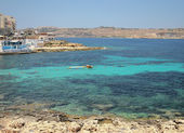 In Saint Pavel's gulf. Malta — Stock Photo