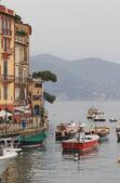 Gulf Tigullio. Portofino, Laguria, Italy — Stock Photo