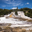 Orakei Korako geothermal park in New Zealand — Stock Photo
