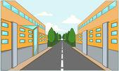 Factory building — Stock Vector
