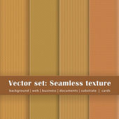 Seamless texture set 3 — Stock Vector