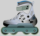 Sports Roller Skates — Stock Vector