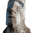Head and shoulders of moai in Easter Island — Stock Photo #39718405