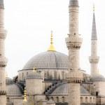 Exterior of Hagia Sophia mosque in Turkey — Stock Photo