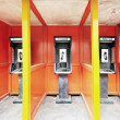 Stock Photo: Public telephones in Vanuatu