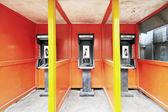 Public telephones in Vanuatu — Stok fotoğraf