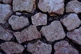 стена из больших камней — Стоковое фото