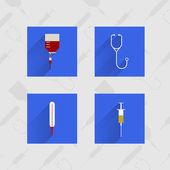 Ikony dla medycyny — Wektor stockowy