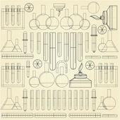 Background for chemistry — Stok Vektör