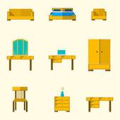 значок для мебели — Cтоковый вектор