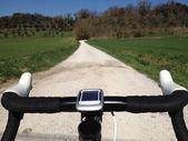 Ciclismo na toscana — Foto Stock