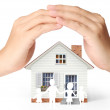 Stock Photo: Holding house representing home ownership