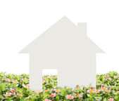 Concept image of make your house — Stock Photo