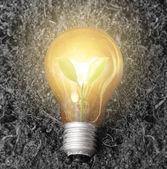 Lampadina a risparmio energetico — Foto Stock
