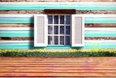 öppna fönstret — Stockfoto