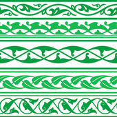 Arabic oriental ornament — Stock Vector