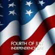 Happy independence day United States of America, 4th of July — Stockvektor  #40452825