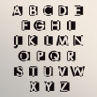 Alphabet set design — Stock vektor #40455611
