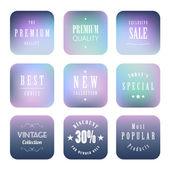 Premium label design — Stock Vector