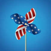 Happy independence day United States of America, 4th of July wit — Stock Vector
