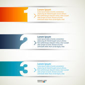 Modern infographics template — Stock Vector