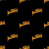Halloween Seamless Patterns — Stock Vector