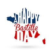 7 月 14 日法国国庆日背景 — 图库矢量图片