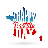 14th July Bastille Day background — Stock Vector