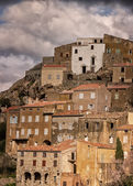 Village of Speloncato in the Balagne region of Corsica — Stockfoto